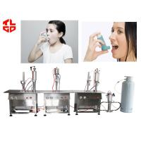 Quality Industrial Aerosol Filling Machine For Pharmaceutical Dose Inhaler Asthma Spray for sale