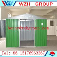 China prefab garden shed / tools shed made in China on sale