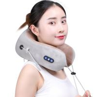 Quality Portable U Shaped Neck Massager 180 Degree Free Opening Infrared Light Hot Compress for sale