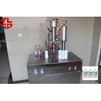 Quality Easy Under Cap Vacuum Refrigerant Filling Equipment , Semi Automatic Aerosol Filling Machines for sale