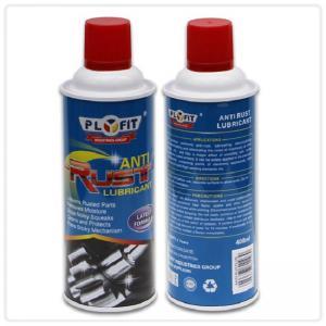 Quality 65x158mm REACH Tinplate 400ml Anti Rust Lubricant Spray for sale
