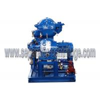 Quality Self Cleaning Separator - Centrifuge For 4000 LPH Partial Discharge Waste Oil Recycling Plant for Ship for sale