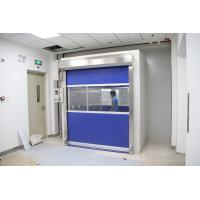 Quality PVC Fast Shutter Door 27m/S Cargo Air Shower Tunnel for sale