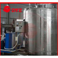 Quality SUS304 / SUS316 Full-Automatic Ice Water Tank Tri-Clamp Connection for sale