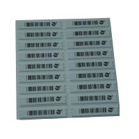 Quality EAS Soft Label AM Sticker  58KHz Security System For Retail Store for sale