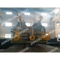 Buy Double Main Cylinder Hydraulic Scrap Baler Machine 8-12 Bales / Hour at wholesale prices