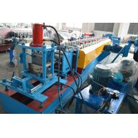 Quality Forming Speed 15m / Min Door Frame Roller Making Machine Gearbox Driving System for sale