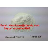 Quality China high purity Legal Oral Steroids Powder Stanozolol/Winstrol CAS 10418-03-8 for Muscle Building for sale