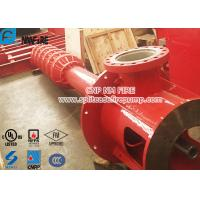 Quality 2 Stage Vertical Turbine Fire Pump / Diesel Fire Fighting Water Pump High Speed for sale
