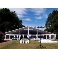 Quality Modular Aluminium Frame Tents Event Tent White Fabric Cover 100km/h for sale