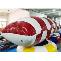 Quality Funny Customized Inflatable Water Catapult Blob Jumping Pillow For Lake for sale