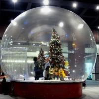 Buy Snow Globe / Crystal Ball Inflatable Bubble Tent For Christmas Activities at wholesale prices