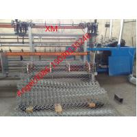 Buy 25-120mm hole double wire feeding Fully Automatic Chain Link Fence  Machine at wholesale prices