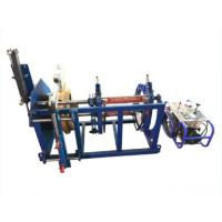 China Bellow Welding Machine for Pipe maximum to 400mm,380V welding machine for hdpe bellow pipe butt welding on sale