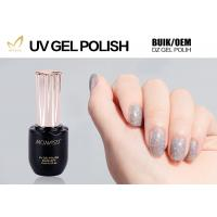 Quality Eco Friendly Glitter Gel Nail Polish For LED Lamp 30 Seconds Cure Time for sale