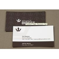 Quality Standard Paper Business Card for sale