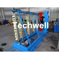 Quality Vertical Hydraulic Roof Panel Roll Forming Machine for Curving Color Coating Steel Roof Sheet for sale