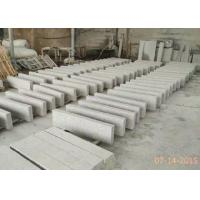 Quality G603 Flamed Garden Curb Stones , Chinese Grey Curve Granite Kerb Stones for sale