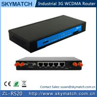 China Wireless Broadband Cellular 3G Router with SIM Slot GPS WiFi for M2M (R520) on sale