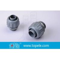 China PVC Plastic Flexible Conduit And Fittings Non Metallic Liquid Tight Connectors Straight on sale