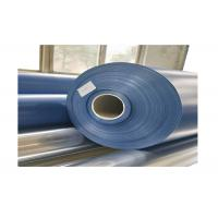 China 1200 Gsm 0.9mm Blue Matte PVC Tarp Roll For Inflatable Boat / Swimming Pool on sale