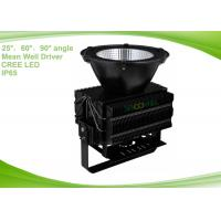 Quality CREE 500w LED Industrial Lighting Fixture Beam Angle 25° 60° 90° for sale