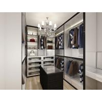 Quality Simple design wooden walk-in closet for bedroom living room cheap folding cupboard wardrobe for sale