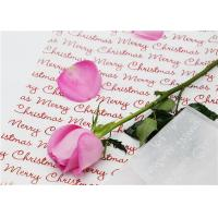 Flower Shop Printed Wax Paper Sheets Good Oil And Water Resistant Property
