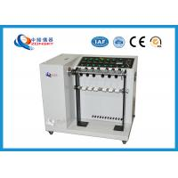 Quality Adjustable Speed Bend Test Equipment / 6-set Wire And Cable Swing Testing Machine for sale