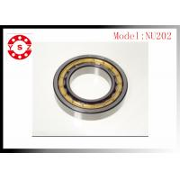 Quality NSK FAG Cylindrical Roller Bearings Chrome Steel  NU202 ID 15 mm for sale