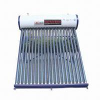 Quality Unpressurized solar water heater, 72 hours heat preservation for sale
