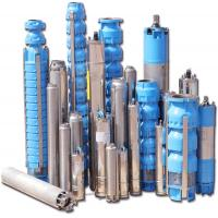 Multiple Stage Deep Well Electric Submersible Water Pump with 80 - 180 m Pump Capacity