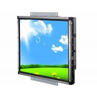 VGA Input Open Frame Lcd Display , Industrial Touch Screen Monitor Fast Response
