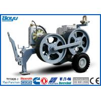 Quality High Power Cable Stringing Equipment / Underground Cable Pulling Winch for Overhead Line for sale