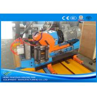 Quality Automatic Blue Cold Cut Saw , Cold Cutting Pipe Equipment Automatic Control for sale