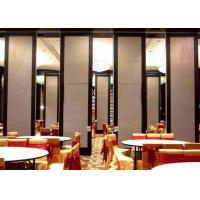 China Top Hung Room Partition Wall , Woven Fabric Office Partition Wall Light Weight on sale