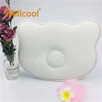 Buy Custom cute shape 3d mesh spacer fabric baby head shaping cradle pillow at wholesale prices