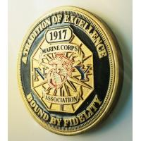 Quality Professional Custom Military Challenge Coins With New York State Troopers Logo for sale