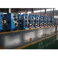 Quality Straight Seam Galvanized Pipe Making Machine ERW High Frequency for sale