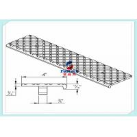 Quality T3 / T6 6063 Anodized Industrial Aluminum Profile With Aluminum Stair Part for sale