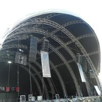 Quality 300x300mm bolt / stage  / strong capacity aluminum stage box truss and display truss for sale