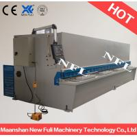 Quality hydraulic metal sheet cutter machine / Hydraulic Guillotine Shearing Machine with NC Control for sale
