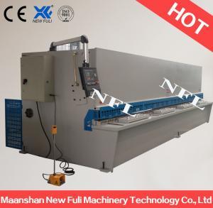 Quality hydraulic metal sheet cutting machine / Hydraulic Guillotine Shearing Machine with NC Control for sale