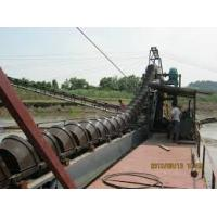 Quality Q235B Steel Plate Bucket Chain Dredger Energy Saving Bucket Line Gold Dredge for sale
