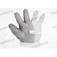 Quality Three fingers Safety Protective stainless steel gloves For Cutting Room for sale