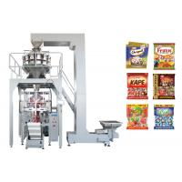 Quality Multiheads Weighing And Packing MachineFor Jelly Candy / Sugar / Confectionary / Biscuit / Cake for sale