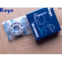 Quality Open Flanged KOYO Bearing 6001 , Deep Groove Ball Bearing With Locating Snap Ring for sale
