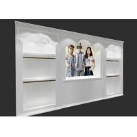 Buy Attractive Clothing Display Case Fashion Kids Clothing Boutique Interior Design at wholesale prices