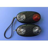 Water Resistant LED Bike Lights PP Plastic Case Material Easy To Fix Up