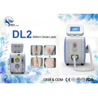 Quality Portable Permanent 808nm Diode Laser Hair Removal Machine 500 W 1-10hz for sale